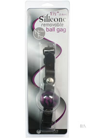 Nickel Free Silicone Ball Gag Sm Swirl