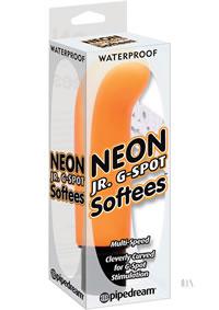 Neon Jr G Spot Softees Orange