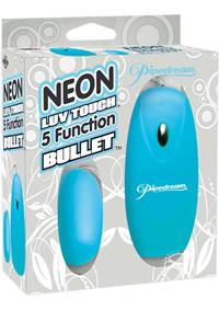 Neon Luv 5 Func Bullet Blue