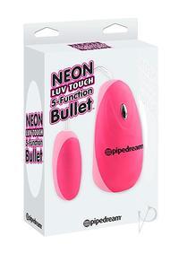 Neon Luv 5 Func Bullet Pink