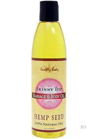 Hemp Massage Oil Skinny Dip 8oz