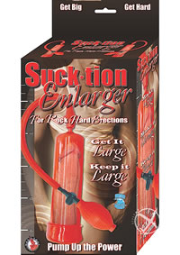 Suck*tion Enlarger Red