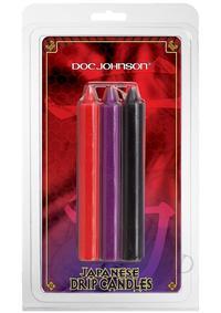 Japanese Drip Candles 3pk