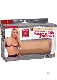 Alexis Winston Pussy/ass Stroker
