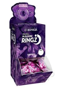 Vibrating Pleasure Ringz 36/bowl