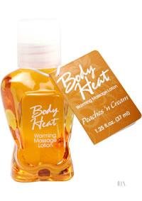 Body Heat 1.25oz Peaches N Cream