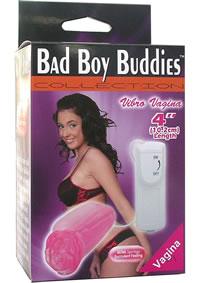 Bad Boy Buddies Vibrating Vagina