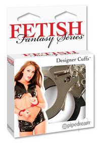 Ff Designer Cuffs Silver