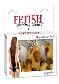 Ff Furry Cuffs Cheetah