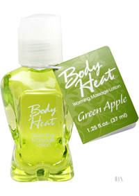 Body Heat 1.25oz Green Apple
