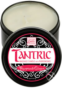 Tantric Massage Candle Pomegran