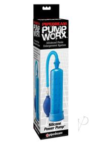 Pump Worx Silicone Power Pump - Blue
