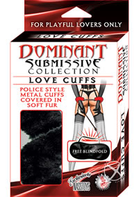 Dominant Love Cuff  black