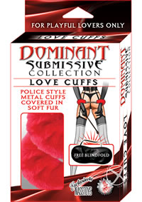 Dominant Love Cuff  red