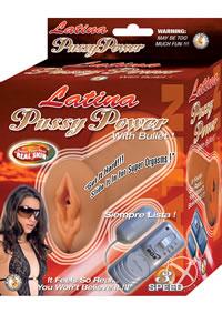 Latina Pussy Power W/bullet - Latin