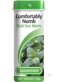 Comfortably Numb Mintz Spearmint