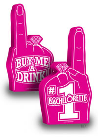 #1 Bachelorette Foam Finger