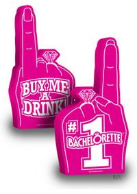 #1 Bachelorette Foam Finger (disc)