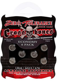 Cross Bones Lr44 Batteries