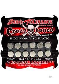 Cross Bone Lr44 Alkaline Batteries