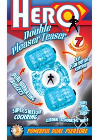 Hero Double Pleaser Teaser Blue