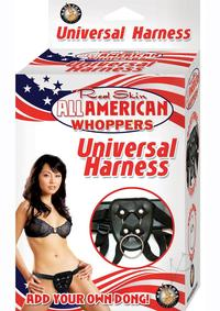 All American Whoppers Harness Black