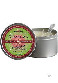 Round Massage Candle Guavalava