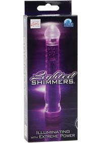 Lighted Shimmer Led Glider Purple