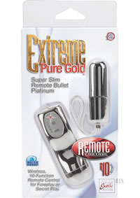 Pure Gold Slim Remote Bullet Platinum