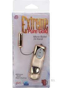 Pure Gold Micro Bullet 24 Karat