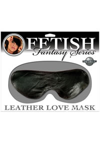 Ff Leather Love Mask Black