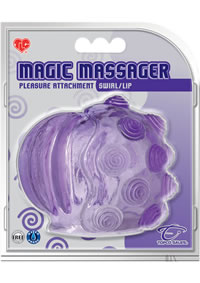 Magic Massager  attach Swirl/lip
