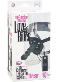Silicone Love Rider Thruster Black(disc)