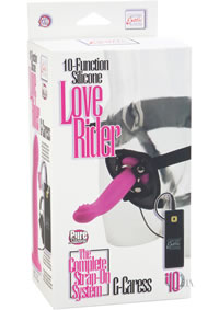Silicone Love Rider G Caress Pink