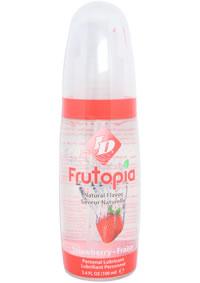 Id Frutopia Natural 3.4 Oz Strawberry