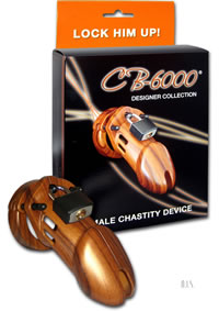 Male Chastity Wood Cb6000