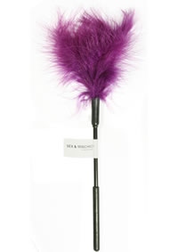 Sandm Feather Tickler Purple