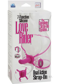Love Rider Dual Strap On Pink