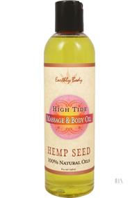 Hemp Massage Oil High Tide 8oz