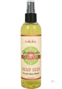 Hemp Seed Glow Oil Guavalava 8oz