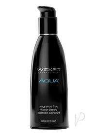 Wicked Aqua Unscented Lube 2oz