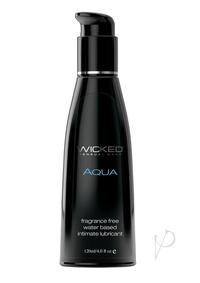 Wicked Aqua Unscented Lube 4oz