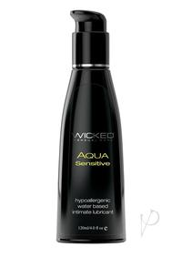 Wicked Aqua Sensitive Unscent Lube 4oz