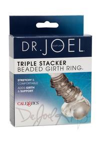 Beaded Girth Ring Triple Stacker