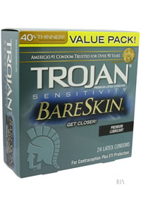 Trojan Sensitivity Bareskin 24s