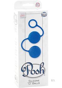 Posh Silicone O Balls Blue (disc)