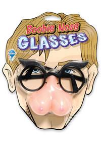 Phoney Face Boobie Nose Glasses