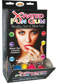 Xrated Fun Gum 90/display