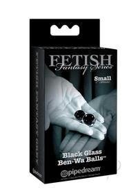 Ffle Glass Ben Wa Balls Small Black