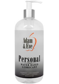 A and E Personal Water Based Lube 16 Oz
